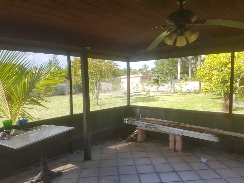 Patio screen replace Miramar